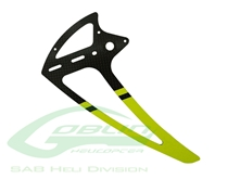 Billede af Carbon Fiber Tail Fin Yellow - Goblin 500