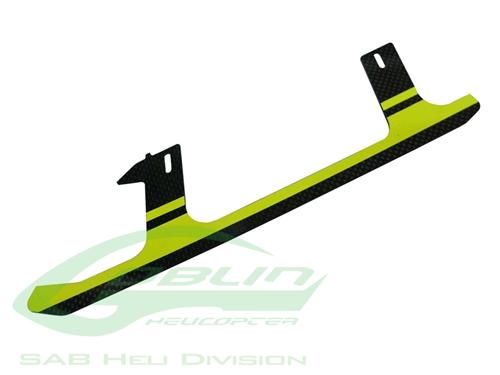 Picture of Carbon Fiber Landing Gear Yellow(1pc) - Goblin 500