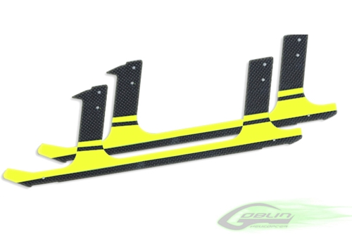 Picture of Carbon fiber landing gear - Yellow (2pcs)