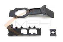Billede af Carbon main frame plastic parts