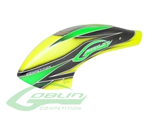 Billede af Canomod Airbrush Canopy Yellow/Green - Goblin 700 Competition