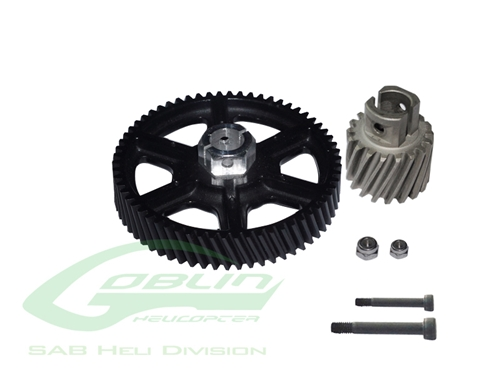 Picture of Heavy Duty Main Gear And Pinion - Goblin 500
