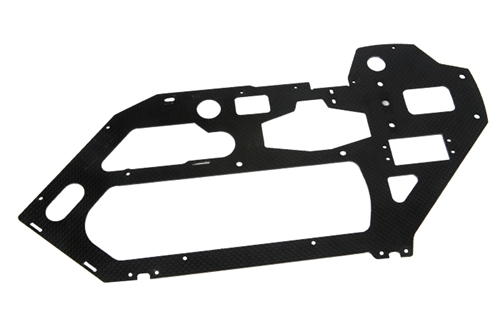 Picture of CF left side plate (l/h side main frame)