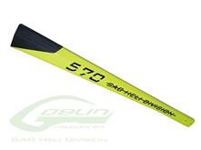 Billede af Carbon Fiber Tail Boom Yellow - Goblin 570