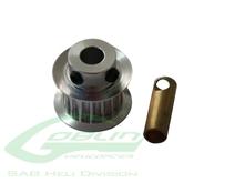 Billede af Aluminum Motor Pulley Z17 - Goblin 500/570