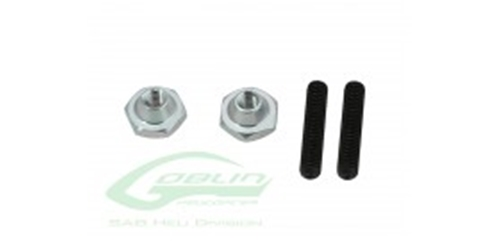 Picture of METRIC HEX NYLON NUTS M3