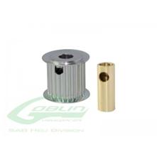 Billede af Aluminum Motor Pulley 19T (for 6/8mm motor shaft)