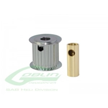 Billede af Aluminum Motor Pulley 23T (for 6/8mm motor shaft)