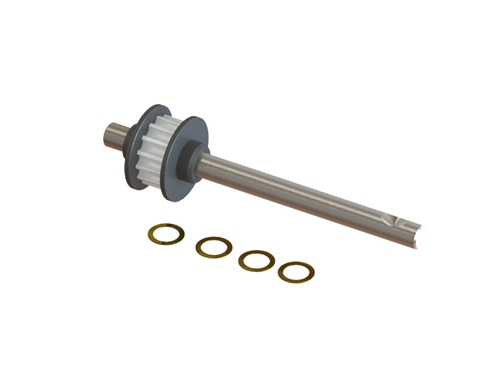 Picture of SP-OXY3-080 - OXY3 - Tail Shaft 15T