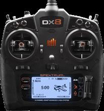Billede af Spektrum DX8 G2 med AR8000 modtager