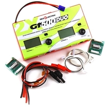 Billede af GT500DUO Dual Channel Charger, 500W per Channel, 1000W total med 2 SPA's og kabler